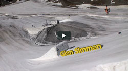 Swiss Snowboard Team im Summercamp Schnals